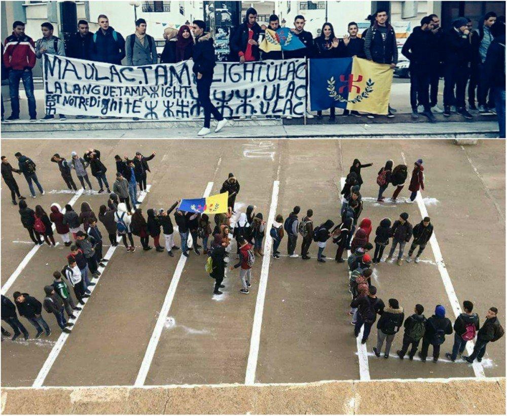 Journée d'action des lycéens et des étudiants kabyles en colère (actualisé)