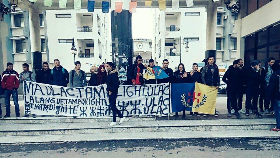 La jeunesse kabyle insurgée contre le déni de sa langue par l'Etat algérien