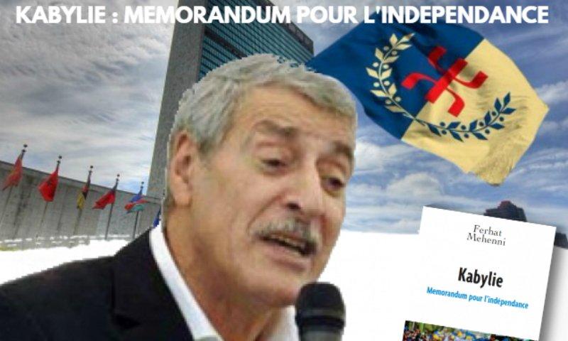 Conférence-débat de Ferhat Mehenni à Bruxelles le 09 décembre