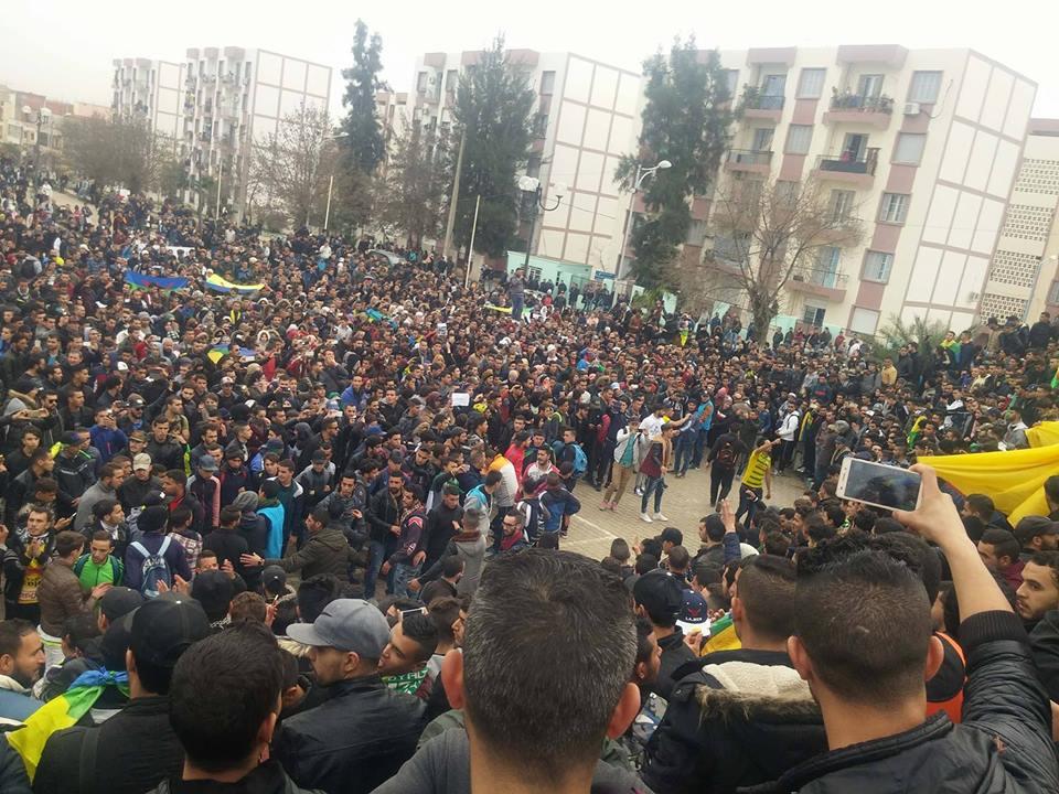Couverture des marches de ce jeudi en Kabylie (Actualisé en temps réel)