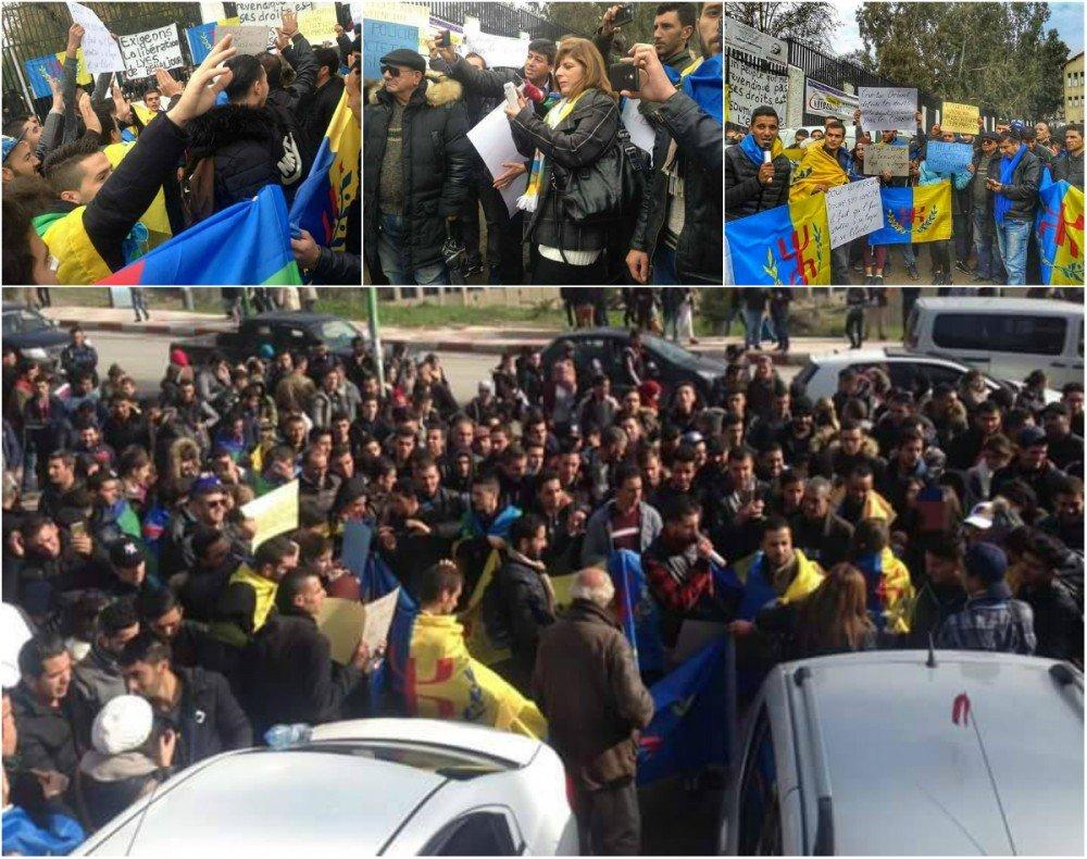 Franc succès du rassemblement de la Coordination universitaire MAK-Anavad de Tizi-Wezzu