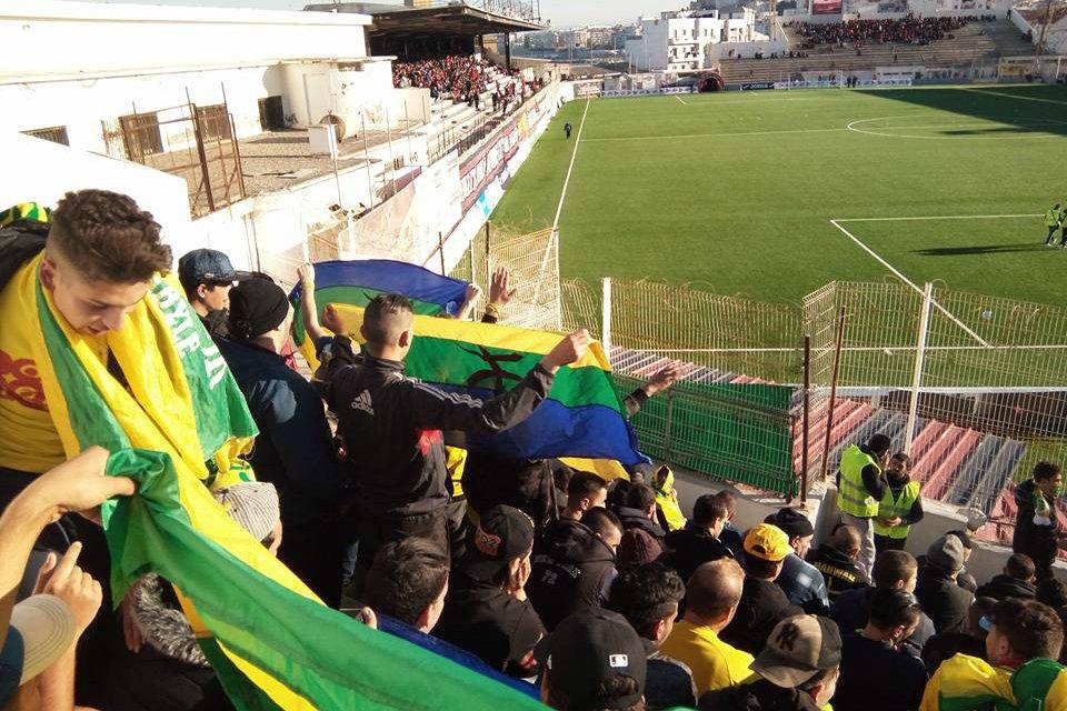 Des supporters kabyles interdits de stade à Alger à cause de leurs drapeaux