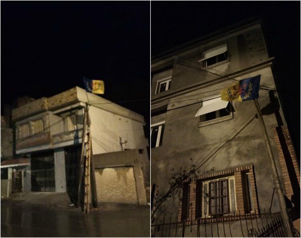 Les drapeaux kabyles flottent au village de Tifrit