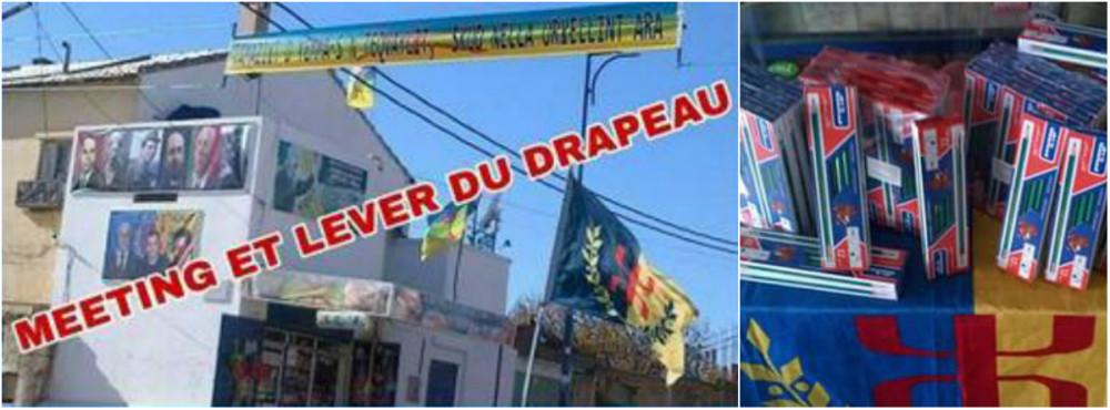 Saharidj : Lever du drapeau kabyle et distribution de 2968 crayons aux écoliers