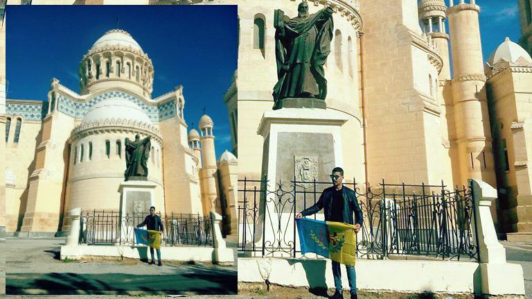 Drapeau kabyle devant Notre-Dame d'Afrique : Interrogatoire de deux heures