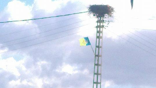 Lever de drapeau kabyle au village Colonel Amirouche