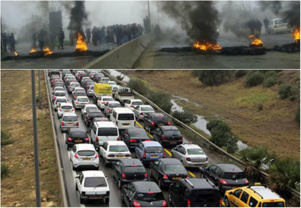 Les fermetures de routes feraient-elles partie du plan de paralysie totale de la Kabylie programmé par l'Algérie coloniale ?