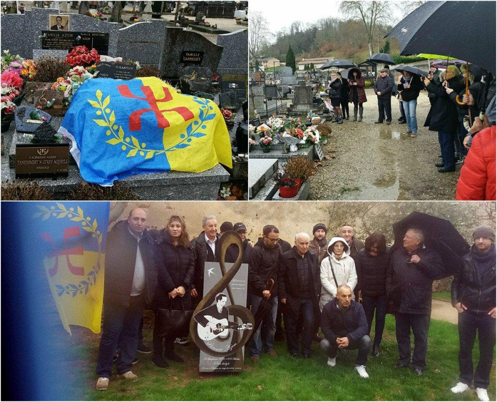 Les Kabyles rendent hommage à Slimane Azem à Moissac