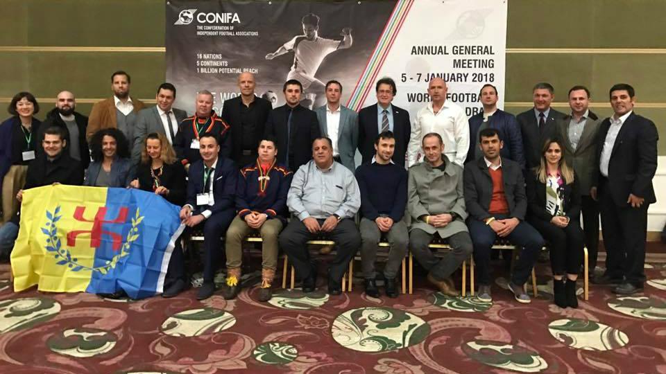 Coupe du monde de football 2018 ConIFA : voici le calendrier des matchs de la Kabylie
