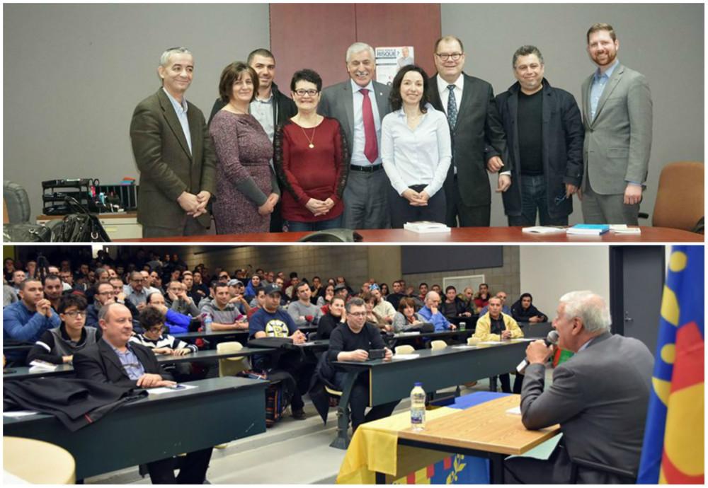 Visite du président Ferhat Mehenni à Montréal : Remerciements de l'association Amitié Québec-Kabylie