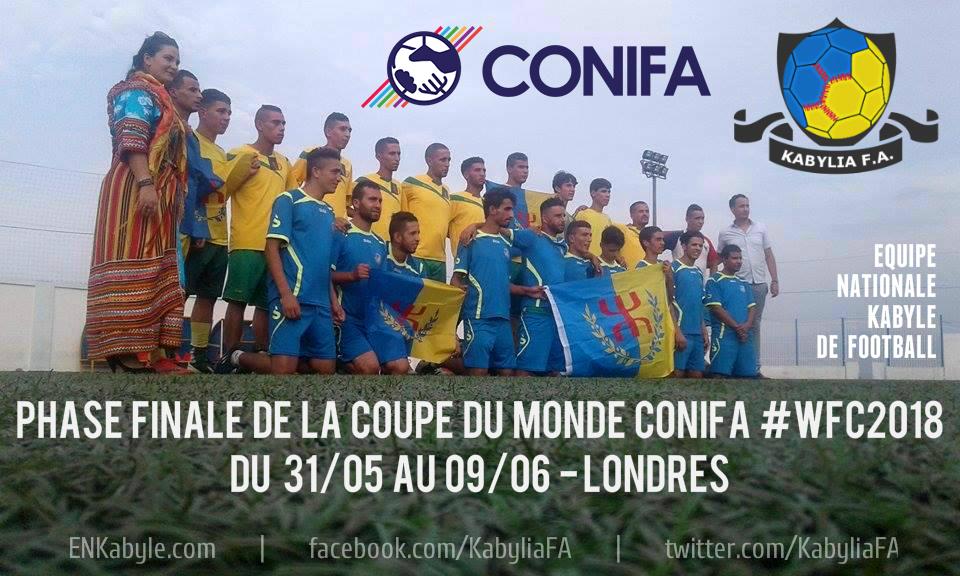 Coupe du monde 2018 : Collecte de fonds en faveur de l'équipe nationale kabyle de football