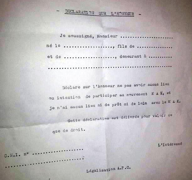 La police algérienne continue de harceler les joueurs de l'équipe nationale kabyle de football