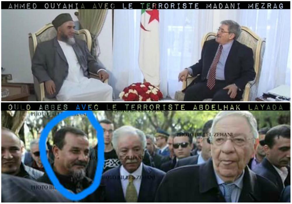 Ou quand le pouvoir algérien et les terroristes islamistes sont comme cul et chemise. Chronique de Menal At Qasi