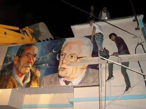 Agwni Ggeɣran rend hommage à Slimane Azem et Mouloud Mammeri