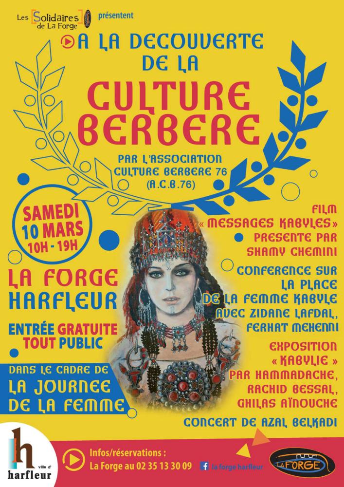 10 mars 2018 : La Kabylie à l'honneur en Normandie