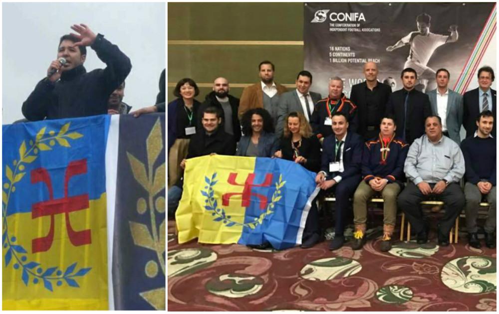 Message de soutien de la coordination régionale Est du MAK-Anavad à l'Equipe nationale kabyle de football