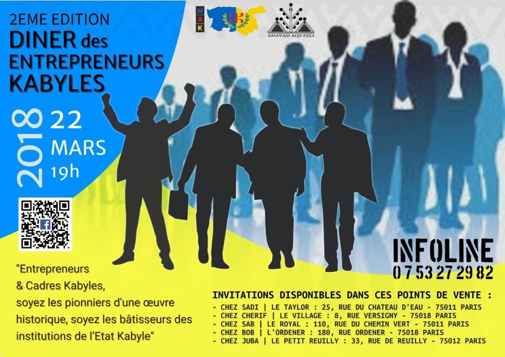 L'Anavad lance un appel aux entrepreneurs et cadres kabyles