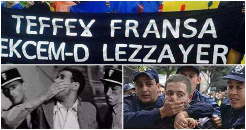 Appel à mobilisation contre la répression algérienne en Kabylie