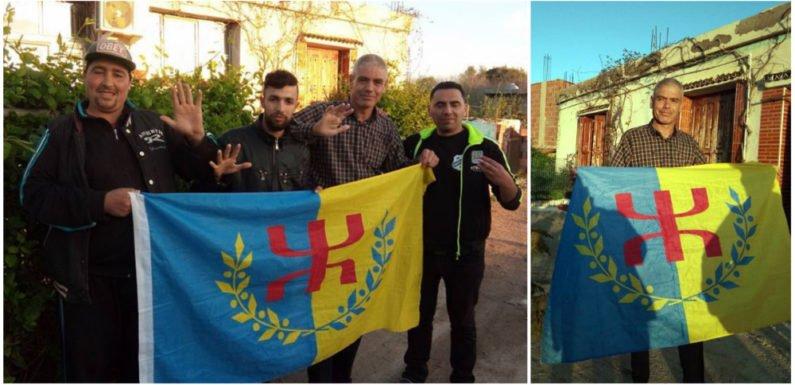 Des militants du MAK rendent visite à Slimane Bouhafs