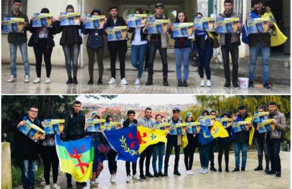 Marche du 20 Avril : La campagne d'affichage bat son plein à Tizi-Wezzu