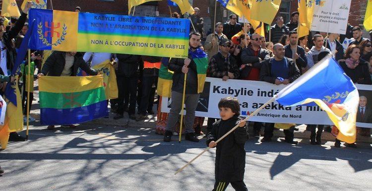Remerciements de la coordination MAK Amérique du Nord pour le soutien de l'autodétermination de la Kabylie