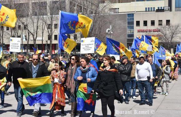 Allocution du Président de la coordination MAK Amérique du Nord, Mass Hafid Saadi à l'occasion de la commémoration des Printemps kabyles à Montréal