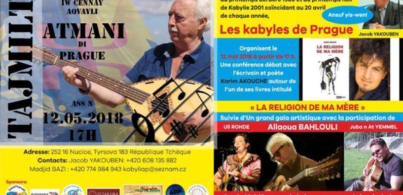 Les Kabyles de Prague célèbrent les Printemps kabyles de 1980 et 2001