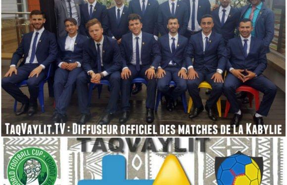 Coupe du monde ConIFA 2018 : TaqVaylit.TV diffuseur officiel des matches de la Kabylie