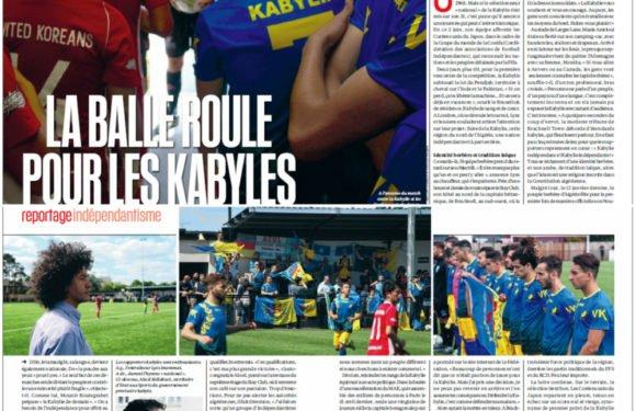 LeVif.be/L'Express publie un reportage sur l'indépendatisme kabyle