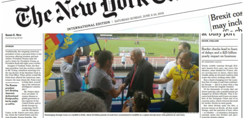 Coupe du monde : Ferhat Mehenni accorde une interview au New York Times