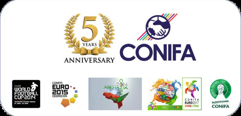 La ConIFA fête son 5ème anniversaire