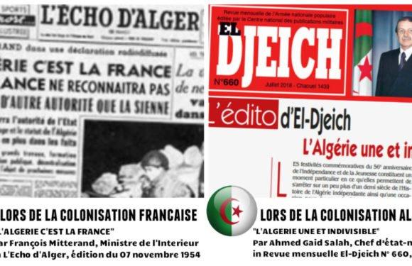 Pourquoi la France ne veut pas de l'indépendance de la Kabylie ? Chronique de Dda Teyyev