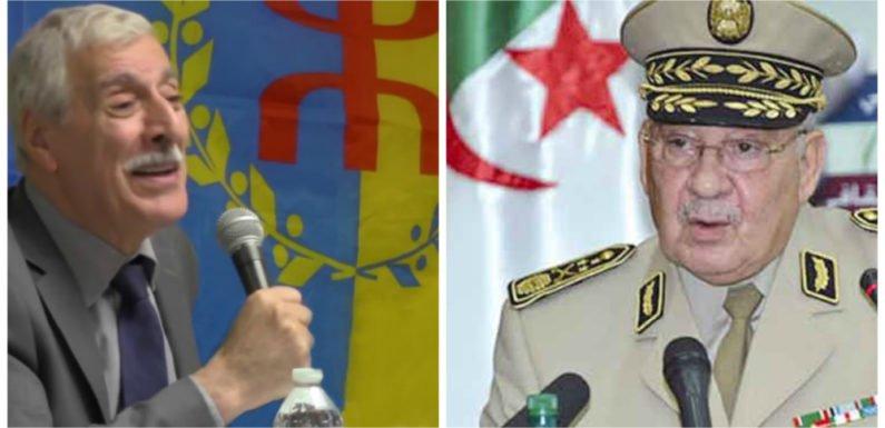 Kabylie / Algérie : Le président Ferhat Mehenni répond à l'armée algérienne