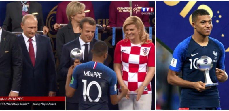Kylian Mbappé : Un autre kabyle élu meilleur jeune champion du Mondial FIFA 2018