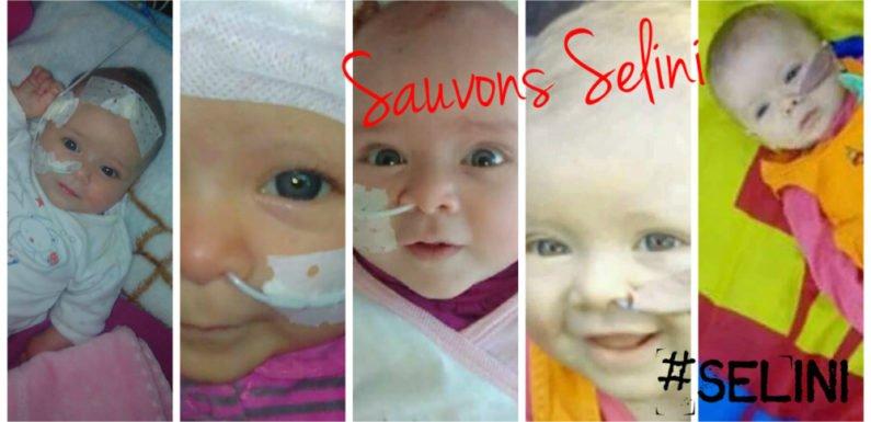 Solidarité : Sauvons la petite kabyle Selini, 9 mois