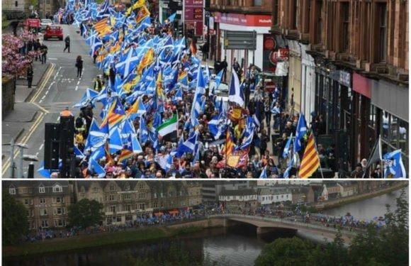 Highlands : Marche monstre pour l'indépendance de l'Ecosse