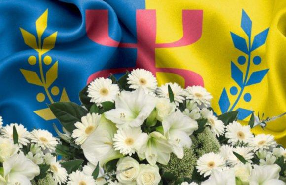 Condoléances du MAK-Anavad Amérique du Nord à Ferhat Mehenni et sa famille