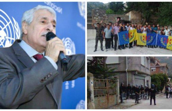 Le président Ferhat Mehenni somme l'Algérie de libérer la quinzaine de militants du MAK arrêtés ce matin