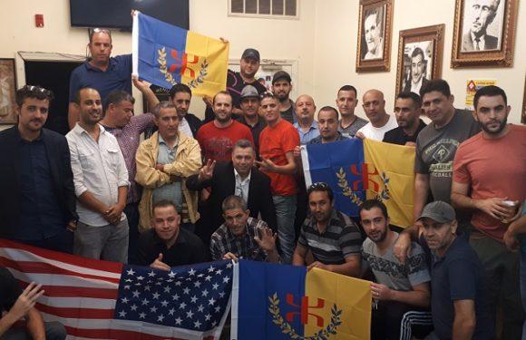 Rencontre fructueuse de la coordination MAK-Anavad Amérique du Nord avec les Kabyles de Philadelphie (USA)