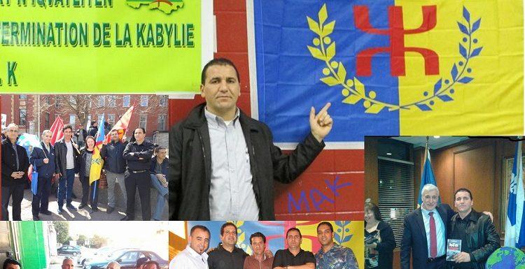 JubaKacimi, militant souverainiste kabyle harcelé par les services de sécurité du régime mafieux algérien