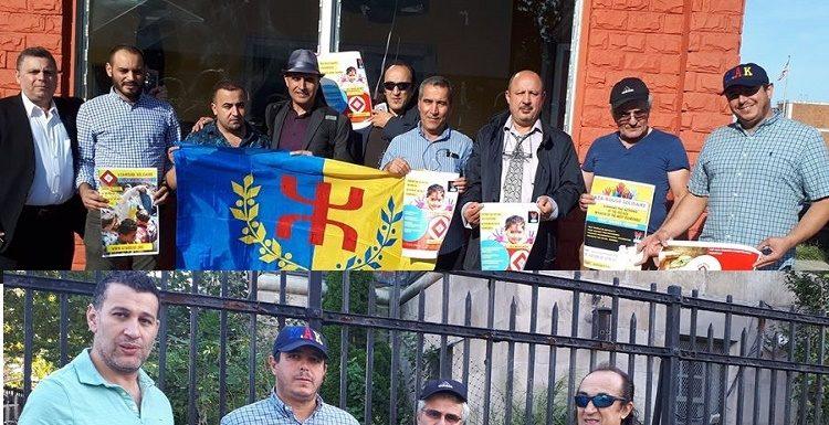 Rencontre de la coordination duMAK-AnavadAmériquedu Nord avec groupe de militants installés à New York