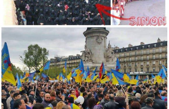 Contre l'arabisation de la Kabylie : Le MAK appelle à un rassemblement à Paris samedi 27 octobre