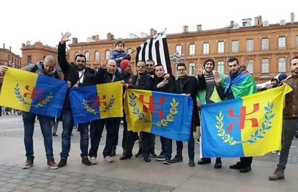 La section MAK de Toulouse pour le Projet de l'indépendance de la Kabylie