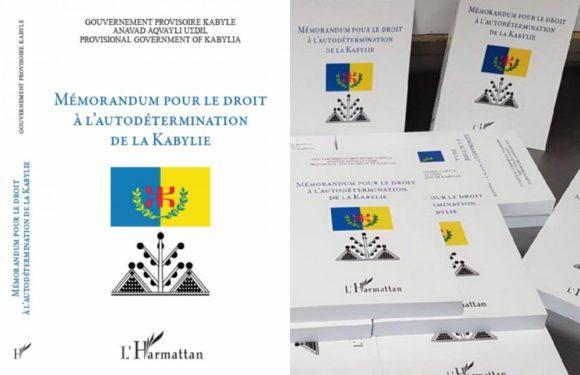 L'Anavad publiera en 2019 le 2ème volume du Mémorandum pour l'autodétermination de la Kabylie