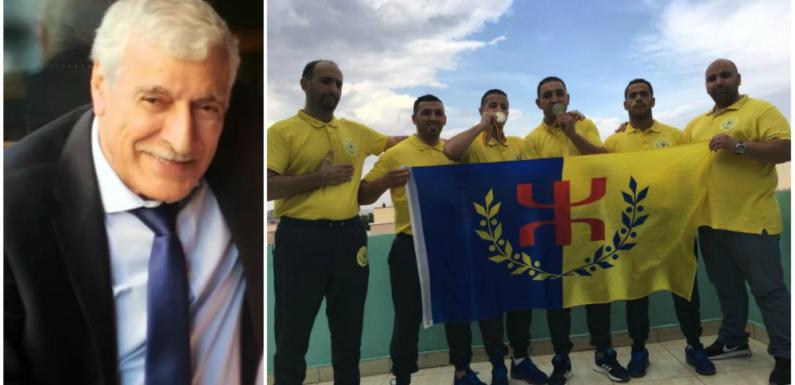 Le président Ferhat Mehenni félicite les athlètes kabyles de Shou Bo