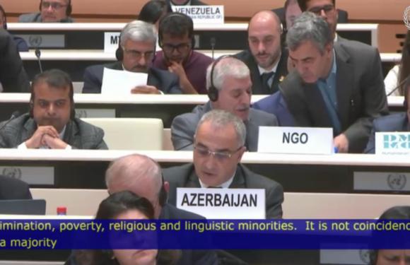 Le président Ferhat Mehenni à l'ONU : «L'Algérie coloniale crée des apatrides Kabyles»