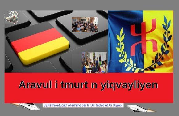 La Kabylie indépendante s'inspire d'un système éducatif moderne et performant, celui de l'Allemagne