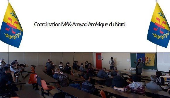 Élection de la coordination du MAK-Anavad Amérique du Nord