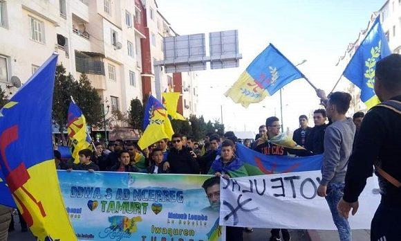 Mobilisation en Kabylie, un pays qui mérite d'être libre