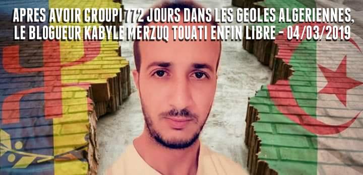 Ferhat Mehenni a félicité de vive voix Merzouk Touati suite à sa libération